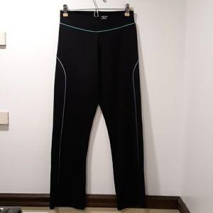 Black Aspire Wide Leg Workout Pants